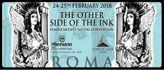 Roma: The Other Side of The Ink 2018 - Sheraton Hotel - 24 e 25 Febbraio