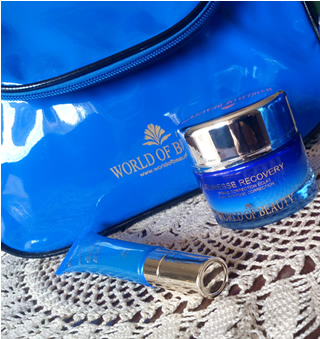 Provati per voi: World of Beauty - Recovery facial radiant memory repair e Jeuness recovery gel