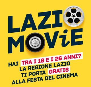 Lazio Movie - La Regione ti porta al Cinema