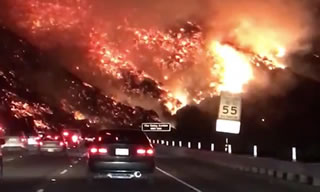 USA: incendi in California. 350.000 ettari andati in fumo. 200.000 sfollati