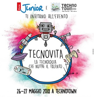 Roma - TECNOVITA - un weekend con Focus Junior - 26 e 27 maggio 2018