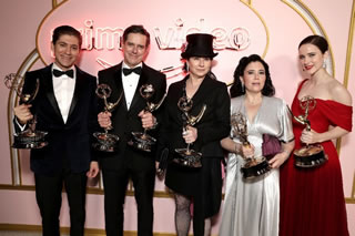 AMAZON PRIME VIDEO: The Marvelous Mrs. Maisel ha vinto otto Primetime Emmy Awards