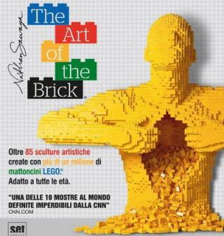 Roma Auditorium: 'The art of the brick' - fino al 26 Marzo 2017