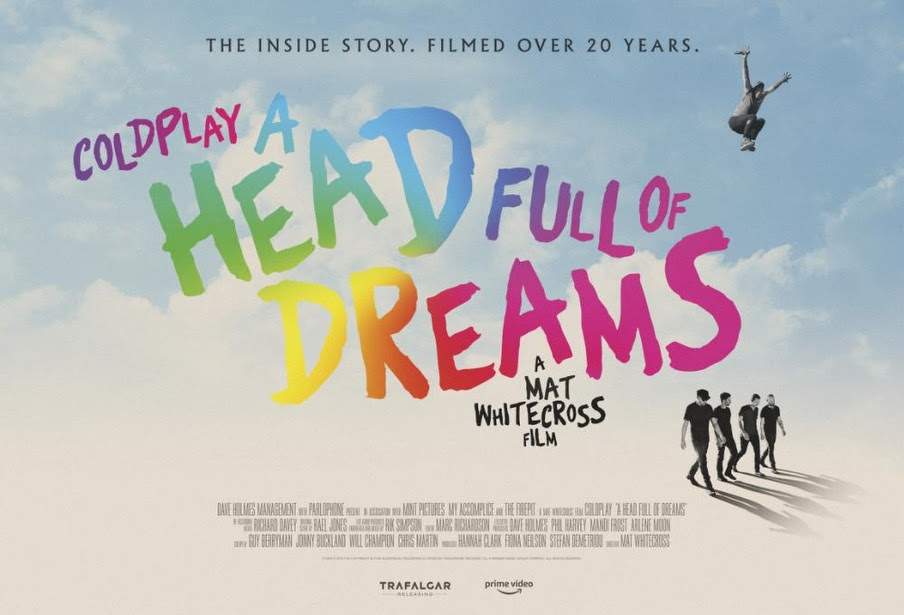 AMAZON PRIME VIDEO: i Coldplay annunciano il film 'A head full of dreams'