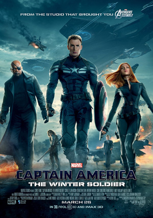 Captain America: The winter soldier - Al Nuovo Cinema Aquila, Roma zona Prenestina
